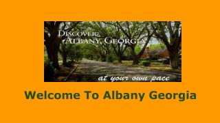 Best Things To Do In Albany GA In Vacations