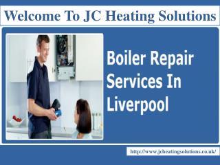 Boiler repairs In Liverpool