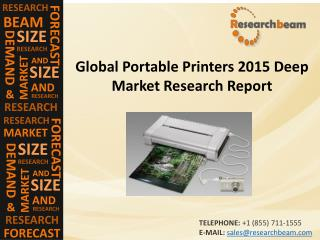 Portable Printers Market (Industry) 2015 - Size, Share, Trends