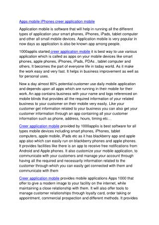 Apps mobile iPhones creer application mobile.pdf