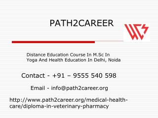 Distance Education Course In M.Sc In Yoga And Health Education In Delhi @9278888356