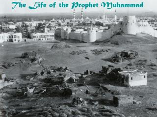 Periodization of the Prophet s Life