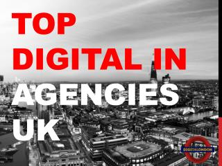 Top Digital In Agencies UK