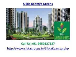 Sikka Kaamya Greens Noida Extension
