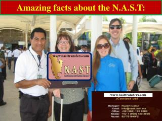 Amazing facts about the N.A.S.T: