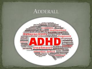 Adderall Medication
