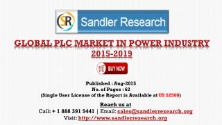 Global PLC Market in Power Industry Report Profiles Mitsubishi Electric, Rockwell Automation, Schneider Electric and Sie