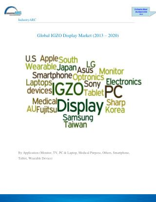 IGZO Display Market