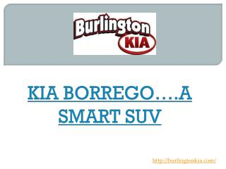 KIA BORREGO A SMART SUV