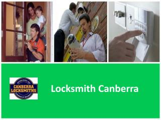 Locksmith Canberra