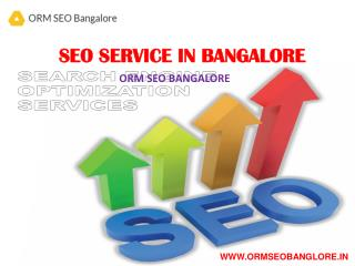Seo Service in Bangalore