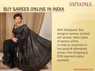 Buy Sarees Online in India