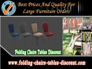 Best Prices and Quality for Large Furniture Orders