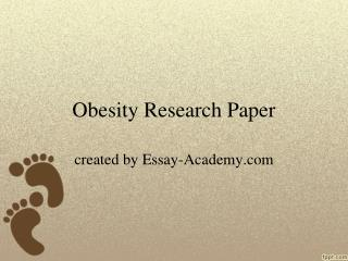 Obesity Research Paper
