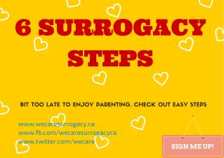 Surrogacy Steps-Surrogacy Process | Surrogacy procedure