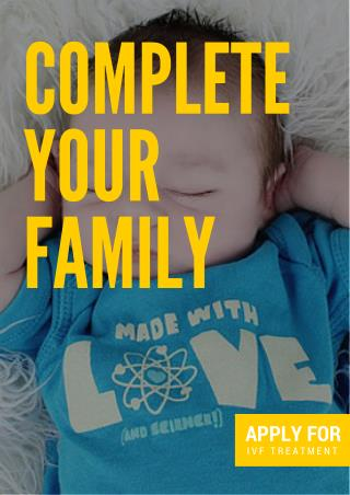 Complete Your Family With IVF