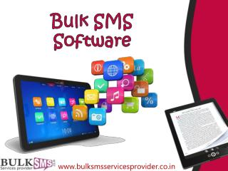 BULK SMS SOFTWARE A BENEFICIAL FACTOR FOR BOTH THE COMPANY AND THE CUSTOMERS