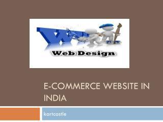 e-commerce website in India