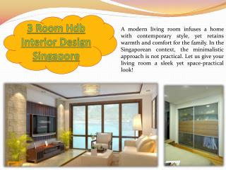 Hdb 4 Room Interior Design Singapore