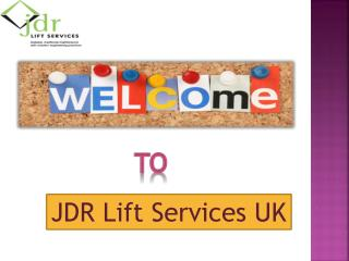 Lift Repair & Breakdown Services Kent