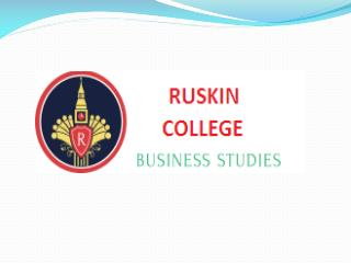 MBA College in Thanjavur, India – Ruskin College of Business Studies