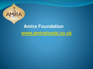 Amira Group - Amira Premium Basmati Rice