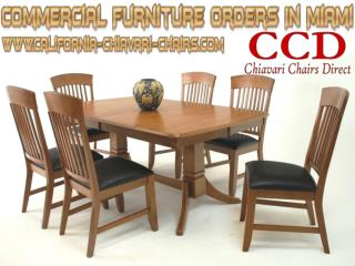 Commercial Furniture Orders In Miami