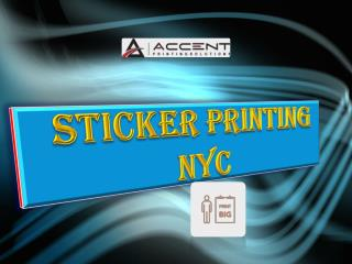 sticker printing nyc