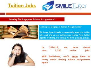 Tuition Assignments Singapore