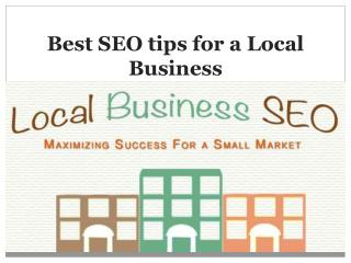 Best SEO tips for a Local Business