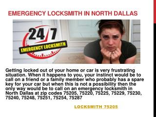 North Dallas Locksmith 75220