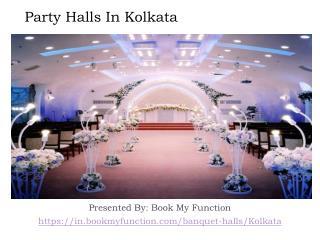 Party Halls In Kolkata