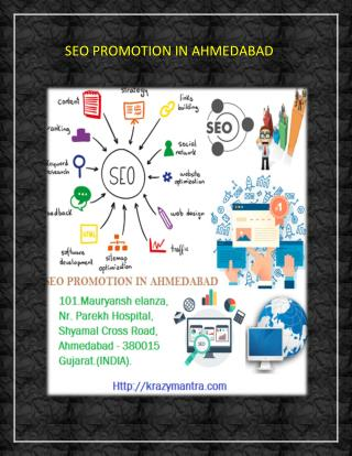 SEO PROMOTION IN AHMEDABAD