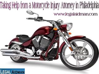 Taking Help from a Motorcycle Injury Attorney in Philadelphia