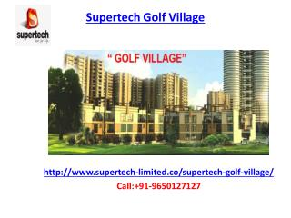 Supertech Golf Village Housing township
