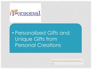 Personalized Gifts and Unique Gifts from Personal Creations
