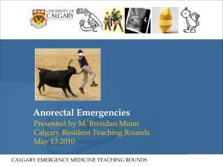 Anorectal Emergencies