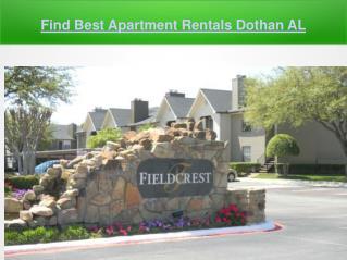 Find Best Apartment Rentals Dothan AL