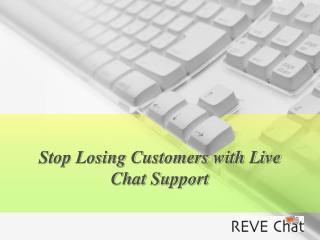 Live Chat Support for Website - REVE Chat