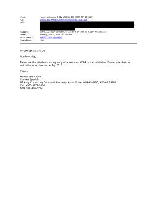 Blog 65 USMC 20150815 W912D1-15-R-0014 ATTCH 4   Tab 12   - Army Notifying Original Offers Of  Reopening (REDACTED)