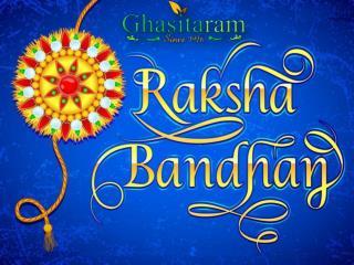 Send Rakhi to India Online Through Ghasitaramgifts.Com