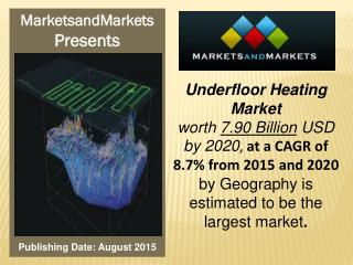 Underfloor Heating Market worth 7.90 Billion USD by 2020