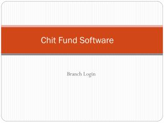 Online Chit Fund Software, Chit Fund Accounting Software, Chit Fund Software & Mlm Software, Chit Fund Software & Networ