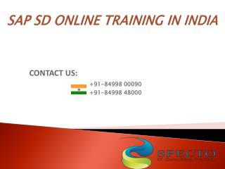 online training on sap sd training in australia,usa,uk.