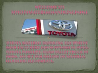 Toyota material handling India,Material handling India