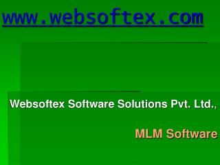 MLM Software, MLM Bangalore, MLM Software In India, MLM Binary Plan Software, Binary Plan Software