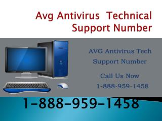 AVG Antivirus Support Phone Number(1 888 959 1458)