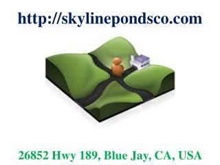 Landscape Ponds Installation, Irrigation Systems and Waterfalls Riverside County CA