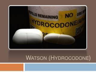 Watson Medication