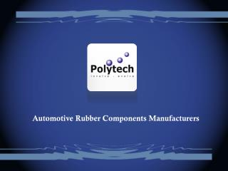 Automotive Rubber Components manufacturers